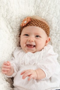 Beautiful, Healthy, and Happy Baby Girl